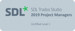 SDL Project Manager Certified