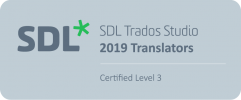 SDL Translator Certified Level 3
